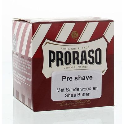 Proraso Preshave creme sandelwood
