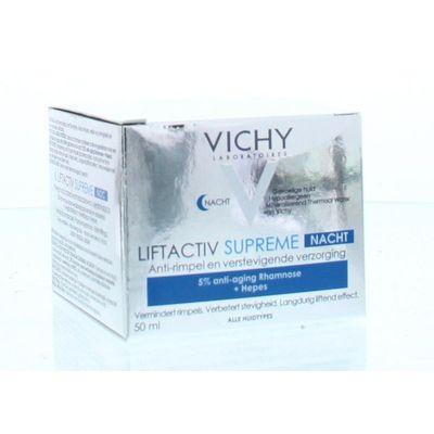 Vichy Liftactiv supreme anti rimpel nachtcreme