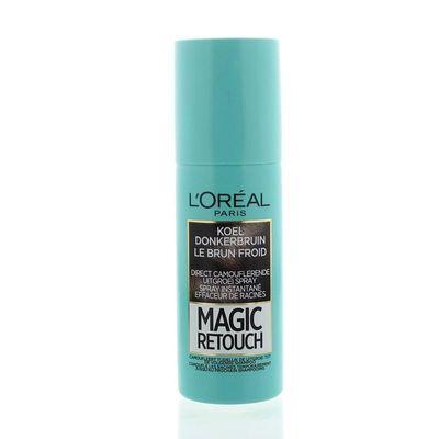 Loreal Magic retouch koel donker bruin spray