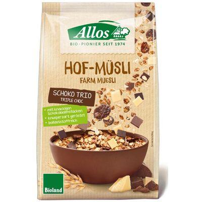 Allos Hof-muesli triple chocolate