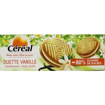 Cereal Duette vanille suikervrij