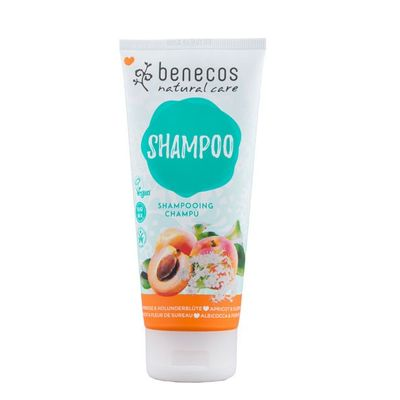 Benecos Shampoo abrikoos & vlierbes