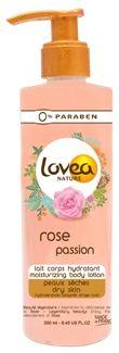 Lovea Rose body lotion