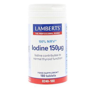 Lamberts Jodium 150 mcg