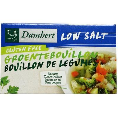 Damhert Groentebouillon tablet zoutarm