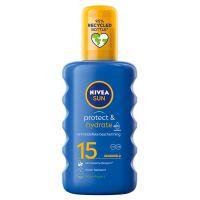 Nivea Sun protect & hydrate zonnespray SPF15