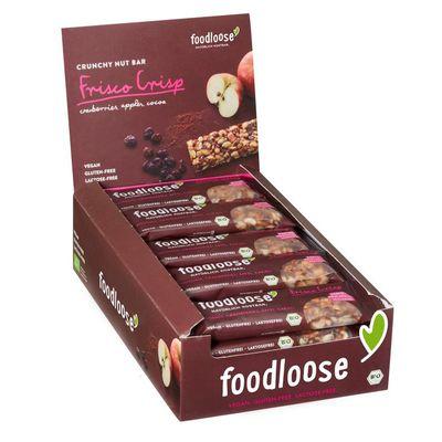 Foodloose Frisco crisp verkoopdoos 24 x 35 gram bio