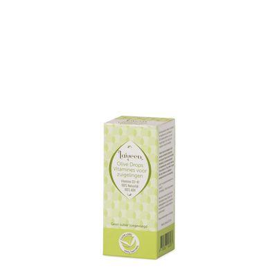 Laveen Olive drops voor zuigelingen (vloeibare vit D&K)