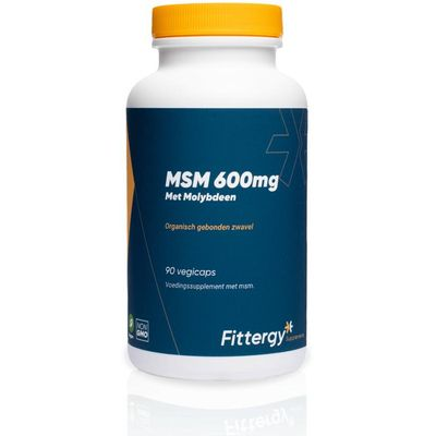 Fittergy MSM 600 mg