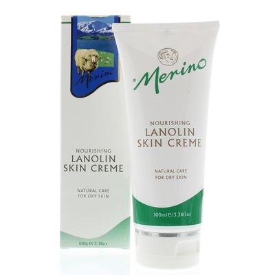 Merino Lanolin skin cream tube
