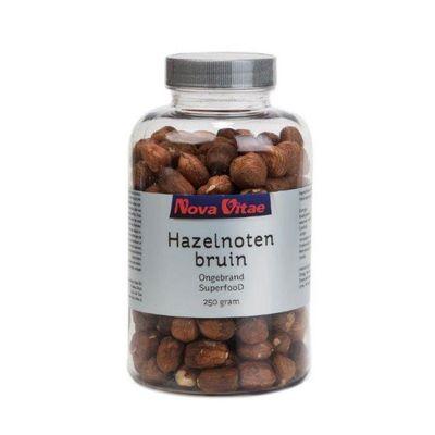 Nova Vitae Hazelnoten bruin ongebrand raw