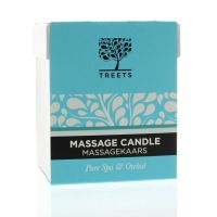 Treets Massage candle pure spa & orchid