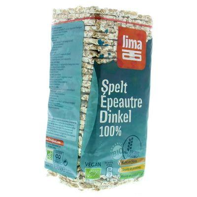 Lima Spelt wafels dun vierkant