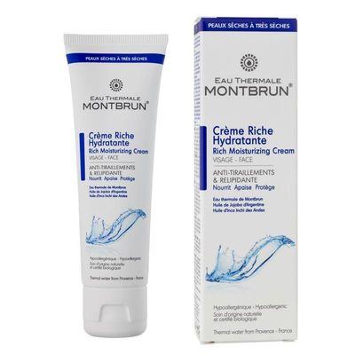 Montbrun Dagcreme rich moisturizing bio