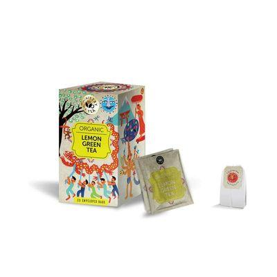 Ministry Of Tea Lemon green tea bio