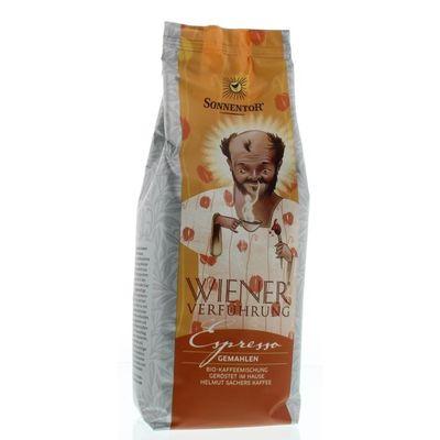 Sonnentor Espresso koffie gemalen Weense verleiding bio