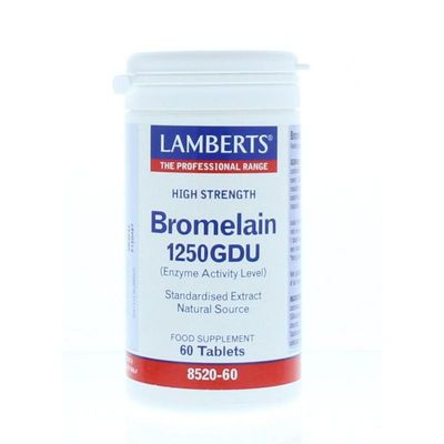 Lamberts Bromelaine 1250 gdu