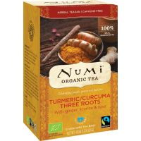 Numi Turmeric tea three roots