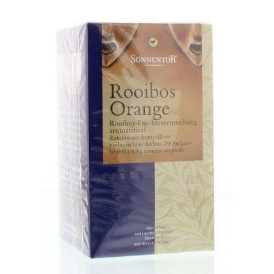 Sonnentor Rooibos en sinaasappel thee bio