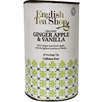 English Tea Shop Ginger vanilla apple paper can