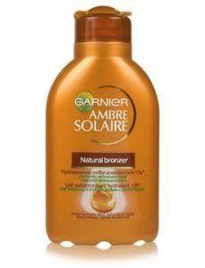 Garnier Ambre solaire perfect bronzeur milk