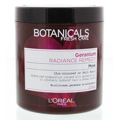Loreal Botanicals radiance remedy masker