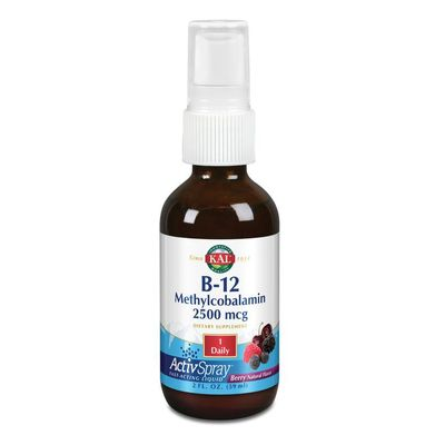 KAL Vitamine B12 2500 mcg methylcobalamine ActivSpray