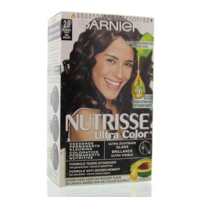 Garnier Nutrisse ultra color glanzend zwart 2.0