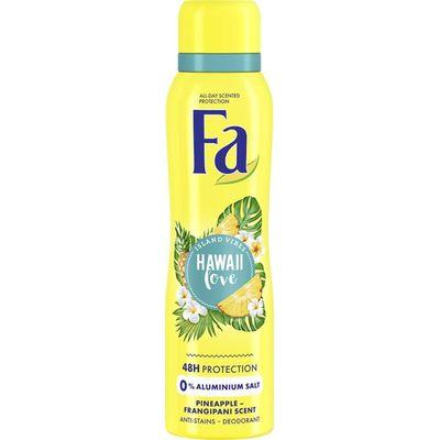 FA Deodorant spray Hawaii love