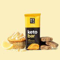 Go-Keto Keto koolhydraatarme reep citroen/lemon poppyseed
