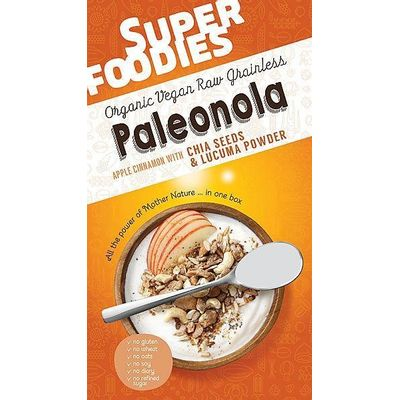 Superfoodies Paleonola apple cinnamon