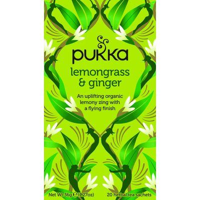 Pukka Org. Teas Lemongrass & ginger thee