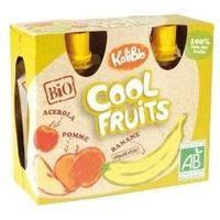 Kalibio Cool fruit appel/banaan 90 gram