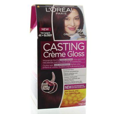 Loreal Casting creme gloss 360 Cherry black