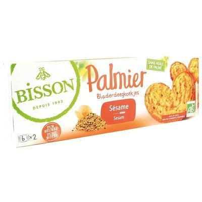 Bisson Palmier bladerdeegkoekjes sesam