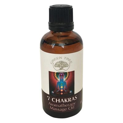 Green Tree Massage olie 7 chakras