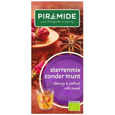 Piramide Sterrenmix zonder munt thee eko