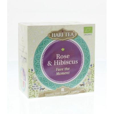 Hari Tea Face the moment rose & hibiscus