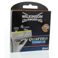 Wilkinson Quattro titanium precision 8 stuks 4E