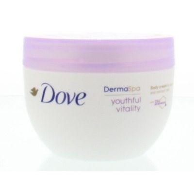 Dove Derma spa body cream youthful vitality