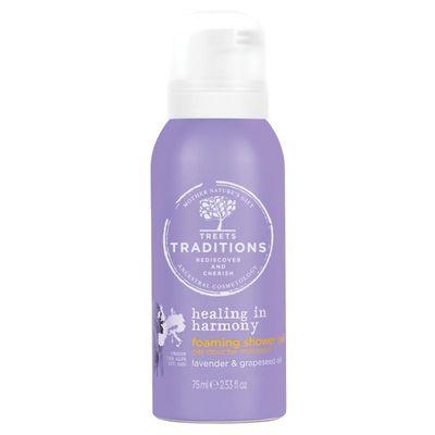 Treets Healing in harmony foam shower gel mini