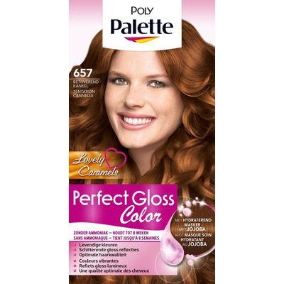 Poly Palette Perfect Gloss haarverf 657 Betoverend kaneel