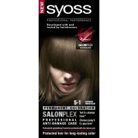 Syoss Color baseline 5-1 lichtbruin haarverf