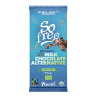 So Free Melkchocoladereep van alternatieve melk dun bio