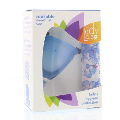 Ladycup Menstruatie cup blue maat S