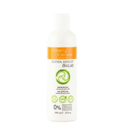 Alyssa Ashley Biolab ginger/curcuma shower gel
