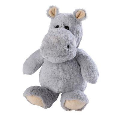 Warmies Nijlpaard grijs