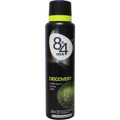 8X4 Deodorant spray men discovery