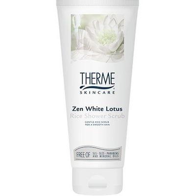 Therme Scrub rice zen white lotus