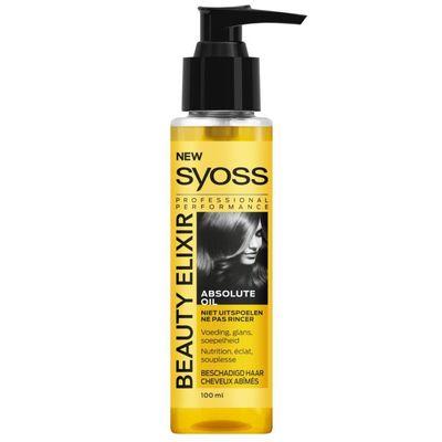 Syoss Beauty elixir absolute oil haarolie